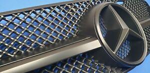 W203 Grill C230 C320 C280 C220 C32 Grille Mercedes Benz + mate black paint