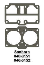 Usa 2 Pc Head Gasket Set Fits Sanborn 130 Amp 165 Pump 046 0151 046 0152