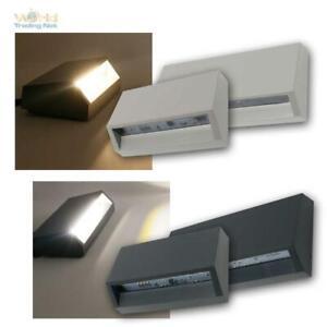 LED Aufbau Wand-Lampe für Innen & Außen-Bereich, 230V IP65 Strahler Spot Leuchte