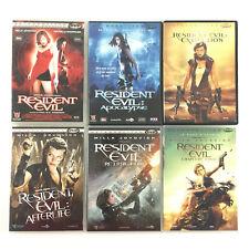 Resident Evil Collection / L'intégrale Coffret Lot 6 DVD (1 à 6)