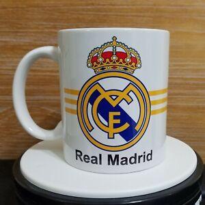 Real Madrid coffee Mug Cup Taza Jarro posillo regalo gift soccer futbol 11oz