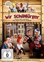 WIR SCHILDBÜRGER - AUGSBURGER PUPPENKISTE,ALLE 13 FOLGEN, W.KIRCHNER  2 DVD NEU