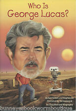 WHO IS GEORGE LUCAS Kids BOOK Brand NEW Biography STAR WARS Movies FILM DIRECTOR