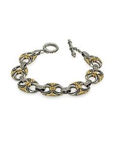Konstantino HEBE Sterling Silver Bracelet BKJ537-130 MSRP $1880