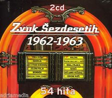 Zvuk Sezdesetih 2 CD 1962 - 1963 Croatia Kroatien Ivica Serfezi Ljiljana 54 Hita