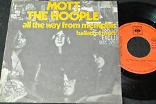 MOTT THE HOOPLE All The Way From Memphis / Yugoslavia SP SUZY RECORDS USD-230