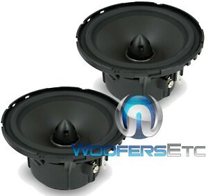 """MB QUART RWE-130 5.25"""" CAR AUDIO REFERENCE MIDRANGE SPEAKERS MADE IN GERMANY NEW"""