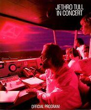 JETHRO TULL 1980 A TOUR U.S. CONCERT PROGRAM BOOK / NEAR MINT 2 MINT