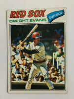 1977 Topps Dwight Evans # 25 Baseball Card Boston Red Sox