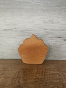 handmade wooden Cake toy / sensory toy
