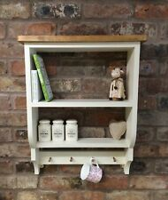 Shabby Chic Pine Cabinet/wall Unit/shelf/shelf Unit In New White