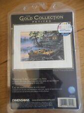 Gold Collection Petites - Morning Lake - Cross Stitch Kit
