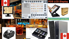 NEW Touch screen POS Point of Sale System Bar Restaurant Retail CANADA