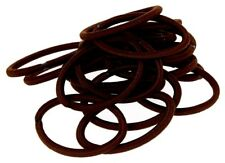100 x BROWN Thick Snagless Rubber Hair Ties Elastics Bands - FREE POST