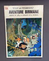 Tif et Tondu n°24. Aventure Birmane. Dupuis 1976