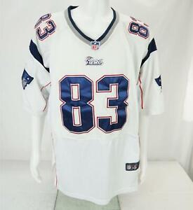 Nike Wes Welker #83 New England Patriots NFL Football Jersey White Men's 44