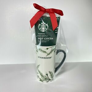 Starbucks Coffee 2020 Holiday Hot Cocoa Mug Kit 16 oz Ceramic Exp 12/2021 NEW