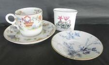 British Royal Worcester Pottery Cups & Saucers
