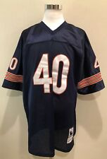Rare Mitchell & Ness Gale Sayers 1971 Chicago Bears Sewn Jersey Sz 56