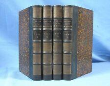 VOYAGE du DUC de RAGUSE / 1ère Édition LADVOCAT de 1837  /  4 Tomes sans l'Atlas