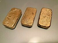 62 grams Scrap gold bar for Gold Recovery melted different computer coin pins