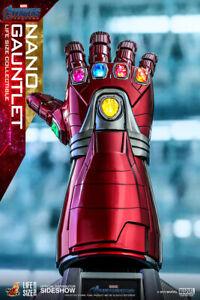 Hot Toys Iron Man Nano Infinity Gauntlet 1/1 Life Size Avengers Endgame LMS-007
