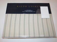 Ralph Lauren Francoise Dominique stripe king flat sheet