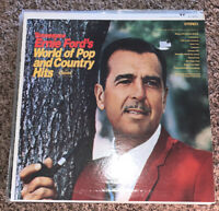LP RECORD - TENNESSEE ERNIE FORD - WORLD OF POP & COUNTRY HITS