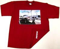 STREETWISE CUTTY T-shirt Urban Hip Hop Streetwear Tee Men L-4XL Burgundy NWT
