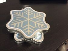 Tin Snow Flake Gift Card Holder Christmas Winter Holiday Present Box Amazon
