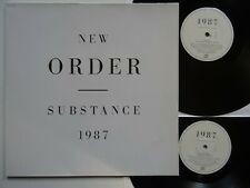 2LP: New Order: Substance 1987 (+ Presse-Info; Factory/Rough Trade, RTD 50)