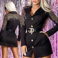 By Alina MEXTON Sexy Minilkeid Damenjacke Damenkleid Blazer  34 - 38 #D212