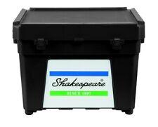Shakespeare SEAT BOX BLACK - Fishing Tackle Box