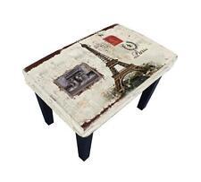 STUNNING PARIS EIFFEL TOWER TABLE/FOOTSTOOL. Pickup Available Carlton.