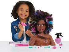 JP Barbie JPL63345 Sparkle Deluxe Barbie Styling Head-Afro Cabello