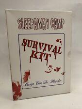 SLEEPAWAY CAMP SURVIVAL KIT rare US 3 disc DVD BOX SET cult 80s slasher horror