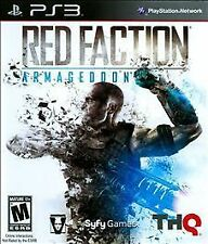 NEW SEALED - Red Faction Armageddon PS3 PlayStation 3 Video Game - FREE SHIPPING