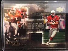 Peyton Manning Tee Martin 2000 Upper Deck Pros & Prospects Card M5