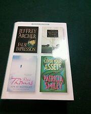 4 Books in 1 Readers Digest - Jeffrey Archer Nicholas Sparks Rosie Thomas Patric