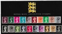 L4748dms 1987 GB UK Definitive Stamps British Stamp pack