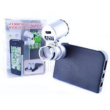 Microscopio Lupa 60x para iPhone 4 con Funda a1173