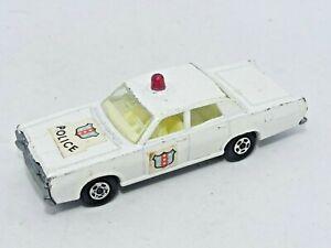 VINTAGE Matchbox Superfast No. 55 Mercury Police Car