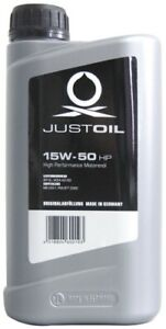 JustOil 15W-50 HP besonders hohe HC-Synthese Anteile
