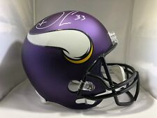 Dalvin Cook autographed signed Full Size Helmet NFL Minnesota Vikings JSA COA