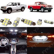 8x White LED lights interior package kit fits 1999-2004 Nissan Frontier NF2W
