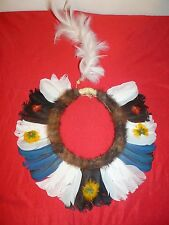 BEAUTIFUL BANIWA BRAZIL AMAZON INDIAN HEADDRESS