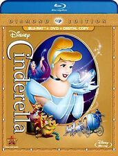 Cinderella Disney Masterpiece Fairy Tale Blu-ray DVD Digital Copy Eng. Frn. Spa.
