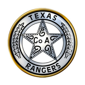Texas Ranger Division Pin Badge