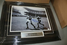KEN NORTON SR SIGNED FRAMED 11X14 PHOTO W/ALI @ YANKEE STADIUM ONLINE AUTHENTICS
