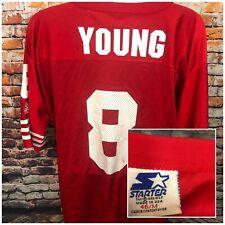 1995 STARTER Steve Young San Francisco 49ers Jersey Made In USA Medium/46